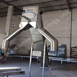 Flow Diverter Conveyor System application