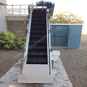 Potato Feeding Incline Modular Belt supplies